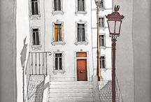 :: TUBIDU GRAPHICS :: / Fine Art Illustration Prints. Check it out! I ship worldwide. http://www.tubidu.etsy.com