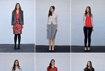 capsule wardrobe gems / pinspiration, my pieces, and looks for capsule wardrobes