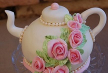 Cakes - Tea Parties / by Debra Richter-Silnicki