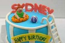 Cakes - Pool Party  / by Debra Richter-Silnicki