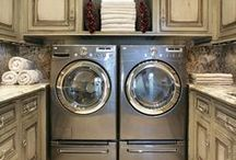 Laundry Room Designs / by Kathy Tutor