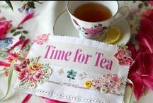 Tea Time / I am a tea drinker and love my tea time.  This board is my tea time inspiration board.