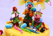 Cakes - Circus / by Debra Richter-Silnicki