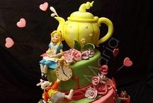 Cakes - Alice in Wonderland / by Debra Richter-Silnicki