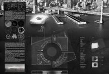 Architectural presentations, drawings, models, concepts