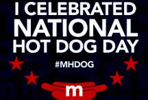 National Hot Dog Day July 23! / July 23rd is National Hot Dog Day! Celebrate at Meatheads with $1.50 Hot Dogs all day! https://www.facebook.com/events/1526093957610450/