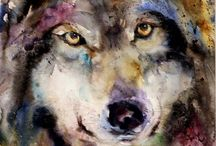 Watercolour beauties / Water colour paintings and art
