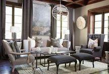 Interior Design: Sitting Room / Sitting room decor and design / by HOPE DENDINGER