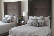 Interior Design: Guest Suite / Guest bedroom, suite / by HOPE DENDINGER