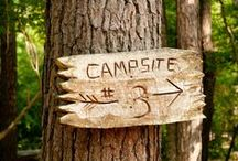 Camping / I love camping.  My dad has taken me and my siblings on many camping trips while I was young.