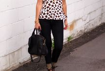 short sleeve blouse outfit ideas