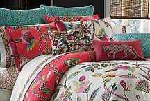 Bedding / Possibilities for bedroom re-do / by Kathy Tutor