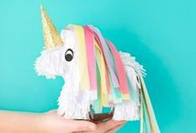 Party | Kids / Kids' party ideas for your cutest. Parties with animals, numbers, fairies, magic, robots, superheroes, unicorns...let your imagination run wild!