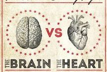 Brains and Hearts / A bunch of brains and hearts