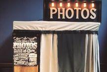 • Photobooth • / Rien de plus fun et de meilleurs souvenirs que d'avoir un photobooth personnalisé pour que vos invités se laissent mitrailler devant un objectif photo. Avec des accessoires, derrière un cadre ou dans une cabine à photos, le photobooth est devenu un élément essentiel d'un mariage réussi ! / by Print Your Love Studio