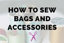 How to Sew Bags and Accessories / Learn How to Sew Bags and Accessories, Free Patterns to Sew Bags and Purses, DIY Bags, Tote, Purse, Pouch, Wallet, Handbag Pattern and Design, Easy Beginner Sewing Project, Tutorial, Sew Along, Gift Bags, Leather Bags, Quilted Bags, Sewing Projects for Beginners