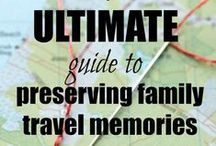 Family History:  Preserving Memories / Ideas and tips on how best to preserve your memories