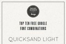 Blogging: Fonts