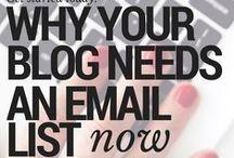 Blogging: E-mail List