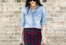 #Outfits mit #Jeanshemd