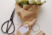 Gift Wrapping Ideas / Lovely gift wrapping ideas
