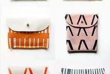 Bags and Wallets / Diy bag-wallet ideas
