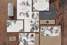 Stationery / Stationery, wedding invitations, event stationery, design, graphic design, lettering, calligraphy, paper goods