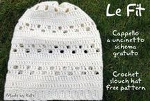 Crochet Head / crochet pattern, tutorial, photo how to and inspiration for making hats, berets, headbands and everything else for your head. In English and sometimes in Italian :-)