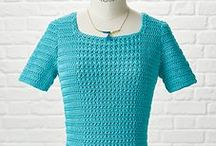 Crochet Top / Crochet cardigans, pullovers, jumpers, tops and what I found online for inspiration :-D