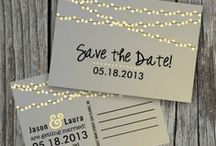 RSVP! Get the print ... / The best in prints for save-the-dates,  bridal showers, wedding invitations, programs - etc.