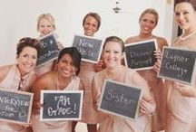 It's called a BRIDAL PARTY for a reason!