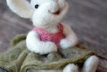 Needle felting / A project for the future