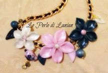 Le Perle di Lanian (bijoux in pasta polimerica) / bijoux realizzati a mano con pasta polimerica, perline d vetro, cristalli, pietre dure, ecc...