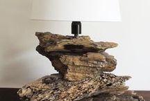PORTOFINO Driftwood Lamp / All our lamps are hand-made by skilled craftsmen and that's why we can guarantee that each one of our lamps will be uniquely different!