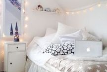 Vivian and Sarah's new bedroom]
