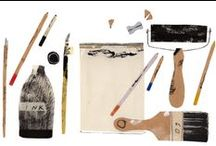 Illustration / by Silvija Fleuriot