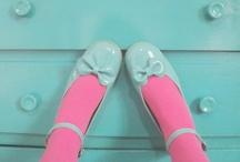 Pink & Aqua