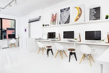 Work. / Office Space. / by Kathleen Farrell