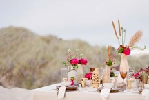 Desert Wedding / Inspiration for a wedding in a desert