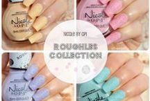 Liquid Jelly: Swatches / Pure swatches of different nail colors + layering combinations.