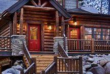 Log Home. / by Leah Stallard