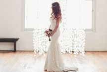 Winter Wedding / Inspiration for a winter wedding. Be the Ice Queen