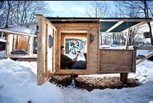 Tiny Homes / Tiny homes are making headlines in the news. What do you think? Could you live in one of these tiny spaces?
