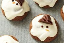 Christmas Goodies / So many cute and tasty ideas for Christmas entertaining!