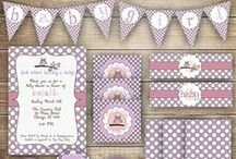 Animal Themed Baby Showers / Baby Shower