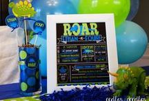 Chalkboard Birthday Posters / Printable & Personalized Chalkboard Posters for Kids