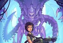 Aliens and Ripley girls