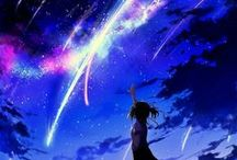 Night,Sky and Beautiful pictures