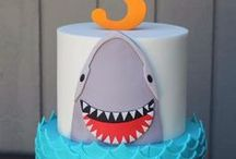 JAWsome Shark Birthday Party