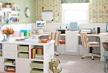 My Home - Office / Craft Room / by Winnipeg Girl